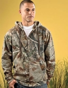 Code V Realtree® Camouflage Full Zip Hooded Sweatshirt