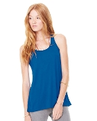 Bella - Ladies' Flowy Racerback Tank