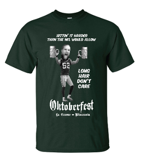 Oktoberfest - Long Hair Don't Care t-shirt